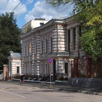 Посольство Шри-Ланки (исполняет обязанности посольства Мальдив), г. Москва, ул Щепкина, 24