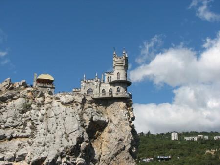 Дворец-замок Ласточкино гнездо, посёлок Гаспра, Крым