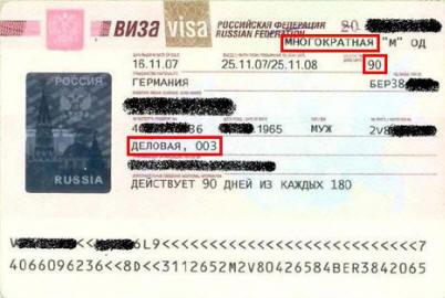 Бизнес-виза в Россию