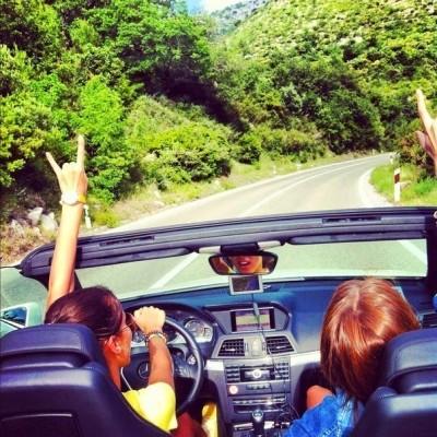 Поездка на авто