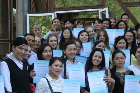 Студенты стипендиальной программы DAAD