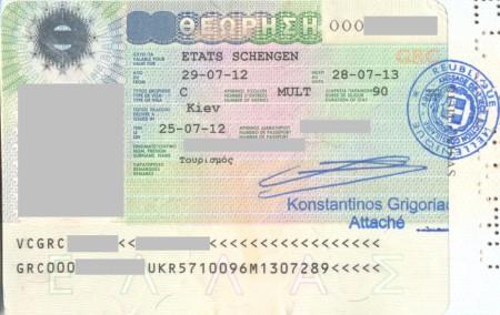Туристическая шенгенская виза на остров Крит
