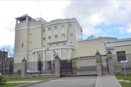 Посольство РФ в Минске, ул. Нововиленская, 1а