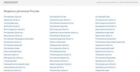 Индексы городов, сел, деревень и улиц Российской Федерации можно узнать на сайте indexmap.ru
