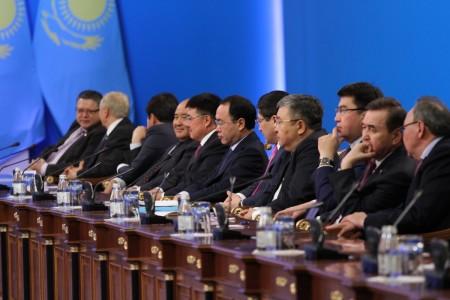 Заседание парламента в Казахстане