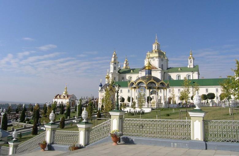 Почаев. Свято-успенская лавра, Украина