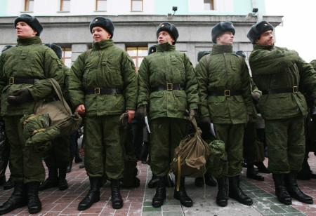 Солдаты российской армии