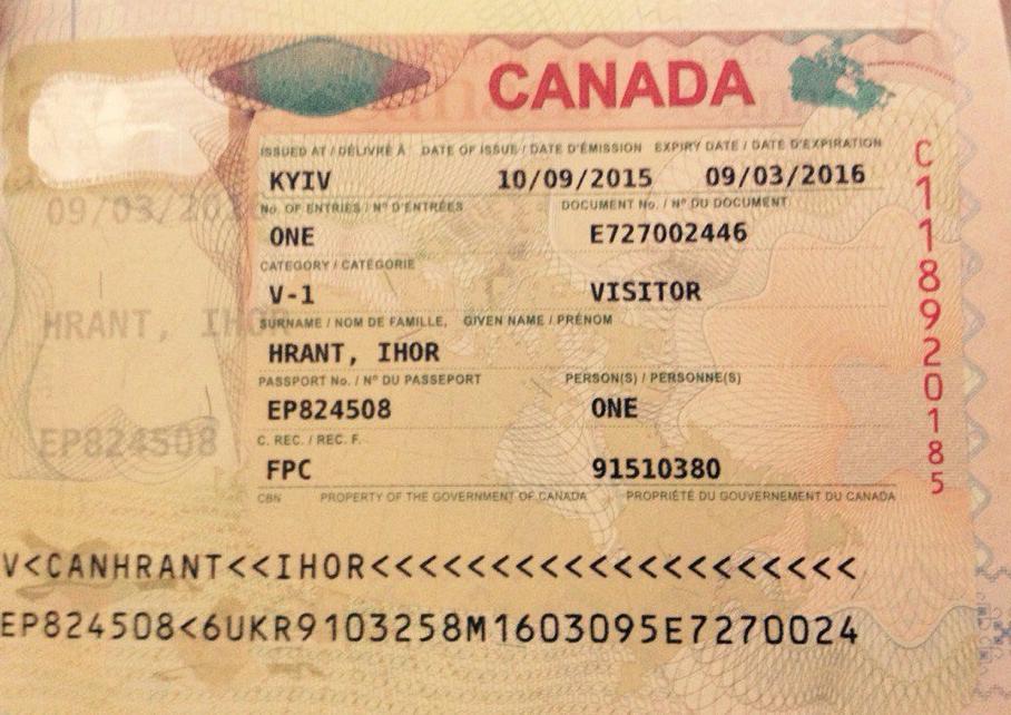Оформление справки с работы для получения визы в Канаду