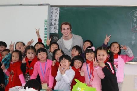 учитель в китае