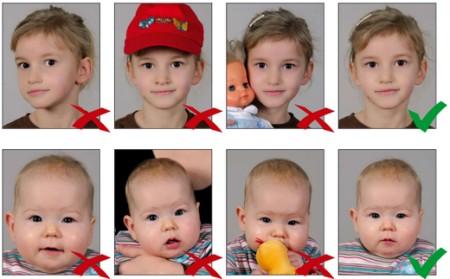 Фото ребенка на паспорт