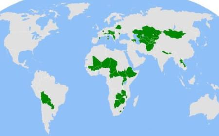 Страны не имеющие выхода к морю