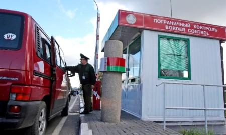 Пересечение границы России с Беларусью в декабре 2021 года