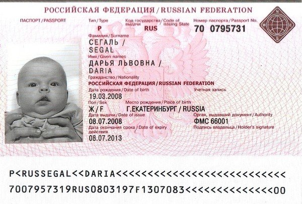 Документы для оформления загранпаспорта ребёнку