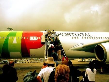 Самолет в Португалию