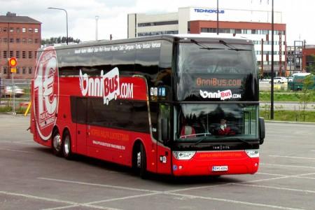 автобусы в Финляднии