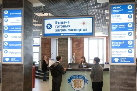 выдача готового паспорта