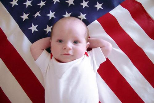 Организация родов в США