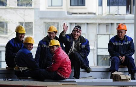 Рабочие иностранцы