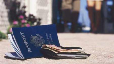 отсутствие паспорта