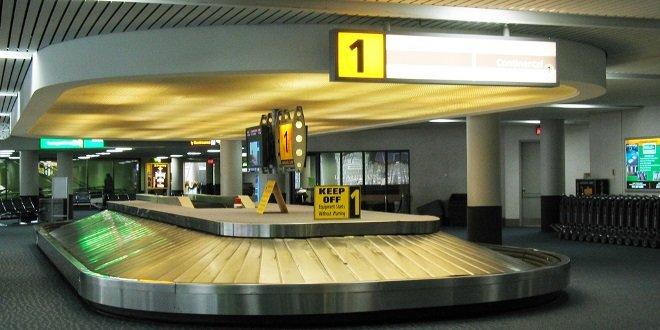 Багажная лента в аэропорту