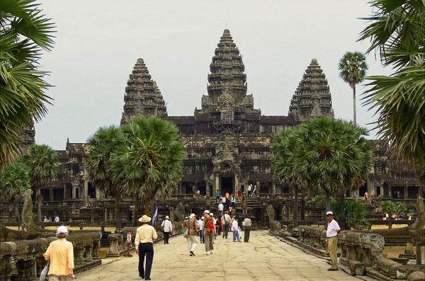 Сием-Рип город в Камбодже