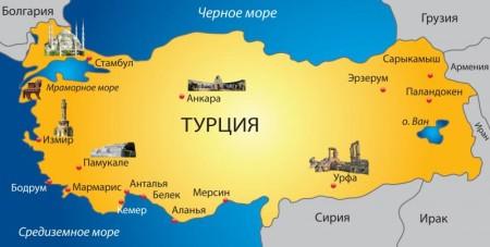 Граница Турции с Россией, Сирией, Грецией и другими соседними государствами