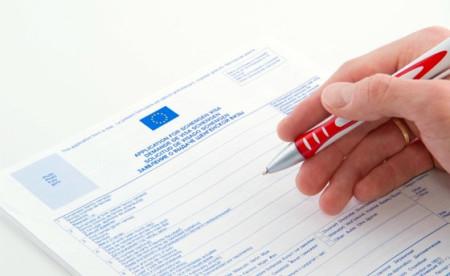 Оформление документов на визу