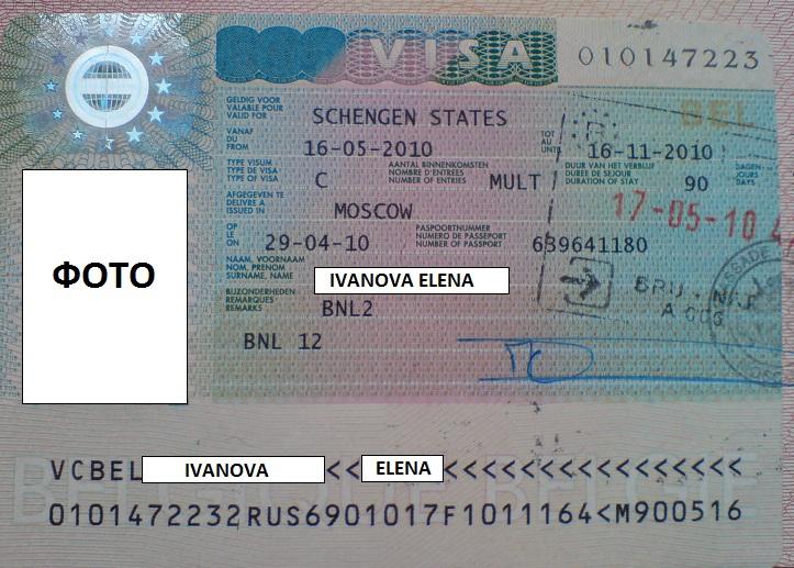 Как сделать визу в бельгию