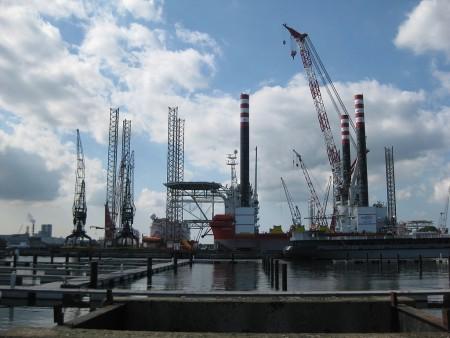 Промышленные предприятия в Амстердаме