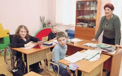 Работа в школе
