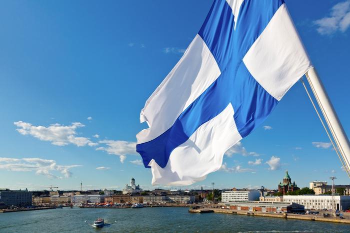 Финляндия и ее государственный флаг