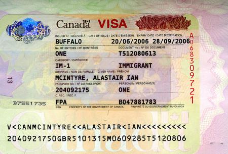 Канадская виза