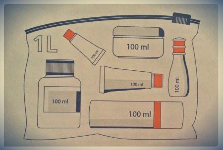 Провоз жидкостей в аэропорту