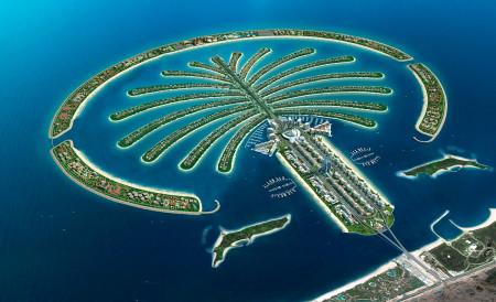 Искусственный остров в ОАЭ
