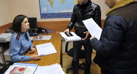 Получение документов в отделе УФМС