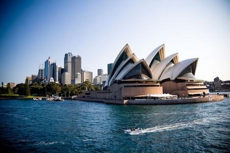 Австралия, Сидней, Оперный театр