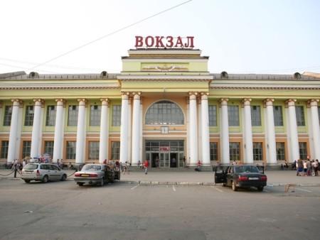 Железнодорожный вокзал в Екатеринбурге