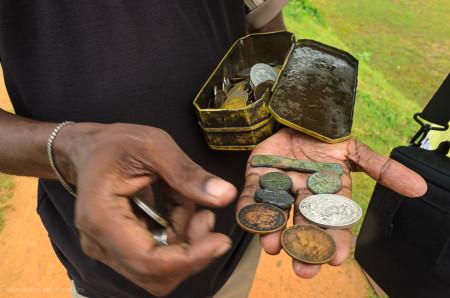 Древние монеты Шри Ланки