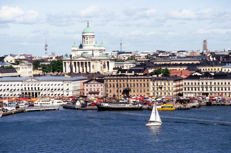 столица Финляндии. Хельсинки.