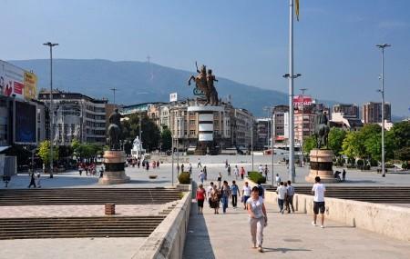 Скопье - столица Македонии