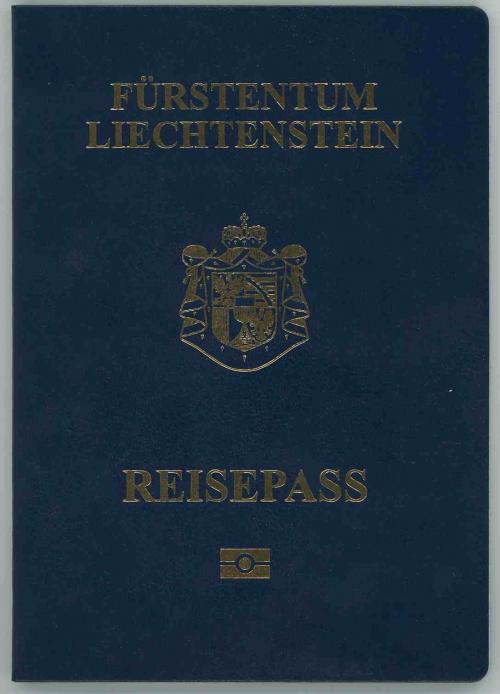 Паспорт гражданина Лихтенштейна