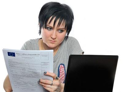 Заполнение визовый анкеты