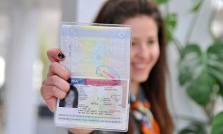 виза в украинский загранпаспорт