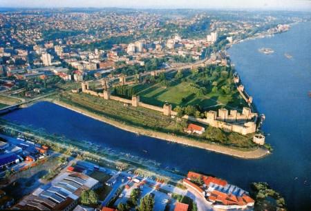 Сербия с высоты птичьего полёта