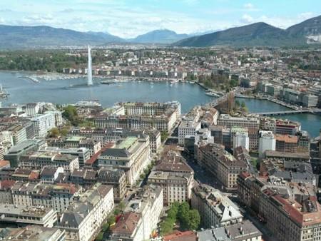 Женева. Швейцария.