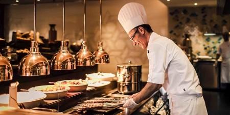 Шеф-повар за работой