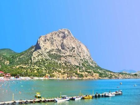 Гора Сокол, Крым