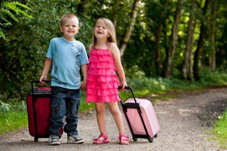 Дети в путешествии