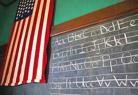 Школьный класс в США