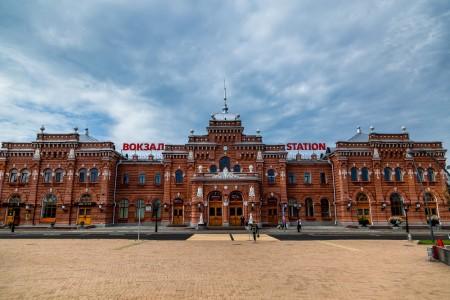 Железнодорожный вокзал в Казани